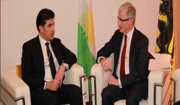 Serokwezîrê Kurdistanê û Serokwezîrê Herêma Flanersa