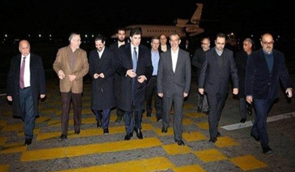 Serokwezîrê Kurdistanê gihat Tahranê