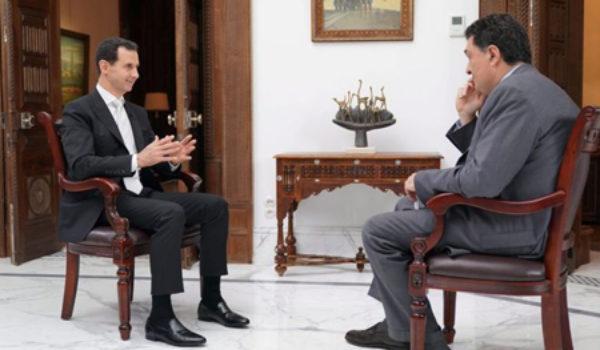 Esad: Emê şerê artêşa Erdogan bikin