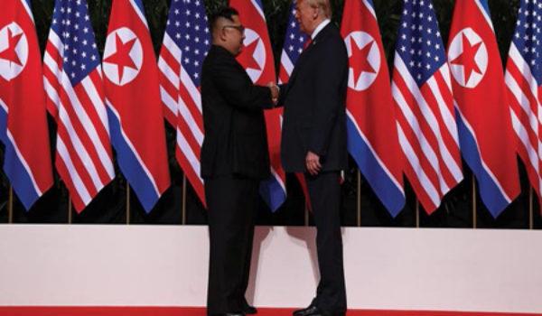Amerika û Koreya Bakur gava dîrokî avêt