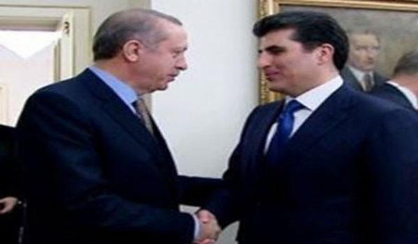 Nêçîrvan Barzani û Erdogan behsa başkirina pêwendiya kirin