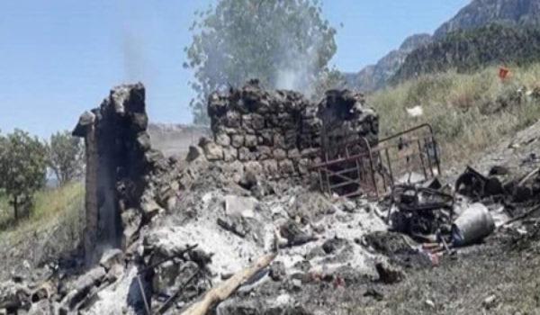 Ji ber bombebarana Tirkiyê 36 gundên Duhokê hatin valakirin!