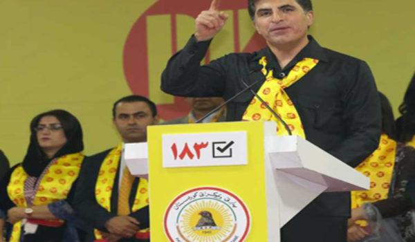 Nêçîrvan Barzanî: Xewna PDK ji bo gelê Kurdistanê ye
