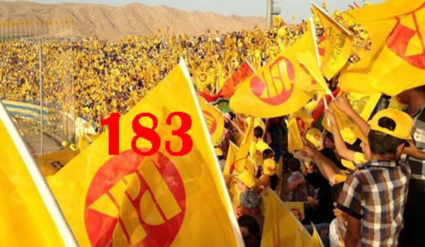 PDK bi canê ezîzên xwe bergirî li Kurdistanê kir