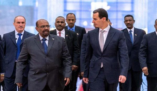 Serokê Sudanê serdana Şamê kir