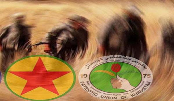 Aqilek seqet, YNK û PKK