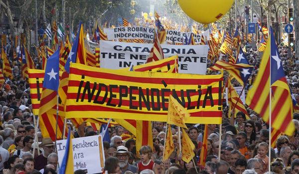 Katalonya sala 2019ê daxwaziya serxwebûnê dike
