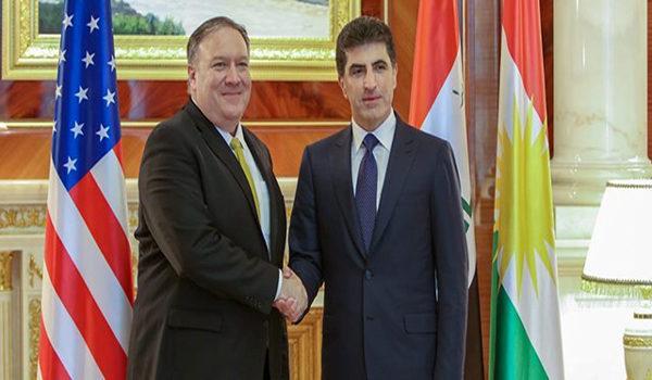 Serokwezîr Barzani pêşwaziya wezîrê derve yê Amerikayê kir